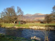 Skiddaw over Rawthey